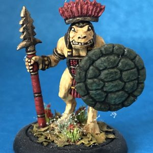 T1 Tenoch Warrior with sword and shield