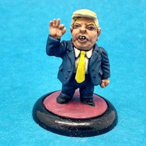 Donald Trump Caricature Politico