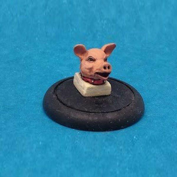 David Cameron Pig's Head