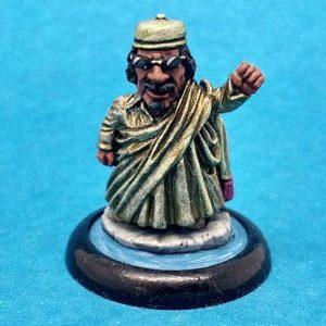 Muammar Gaddafi Caricature