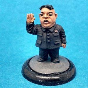 Kim Jong-un caricature