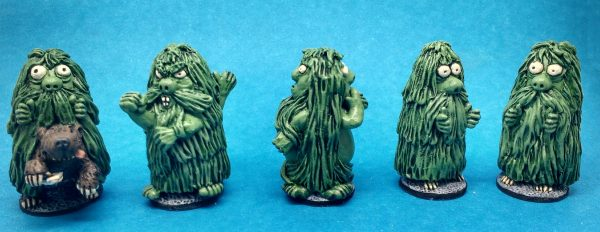 Noggin the nogg troll miniatures