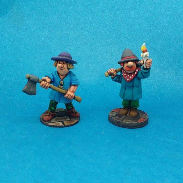 Woodsman and Miner