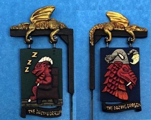 The Dozing Dragon Sign