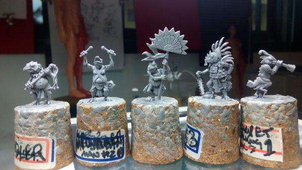 Khamaí command set and bearer sculpts