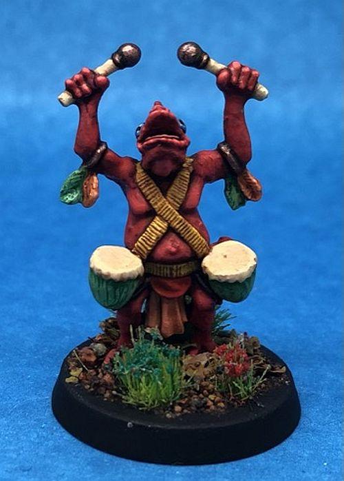 Khamaí command set drummer